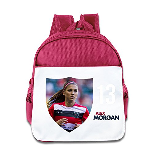 World Cup Alex Morgan Kids Backpack Boys Girls School Bag(two Colors:pink Blue) - Portland Mall In Best