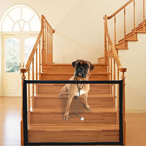 Magic Gate Portable Folding Safe Guard Install Anywhere,Animals Favorite Pet Retractable Safety Gate by Skogfe (Image #6)'