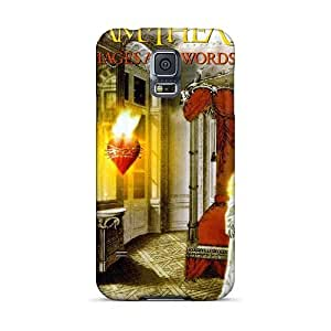 Best Hard Phone Cover For Samsung Galaxy S5 With Custom High-definition Dream Theater Band Image Marycase88