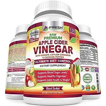 Amazon.com: Apple Cider Vinegar Capsules, 1500 MG Extra