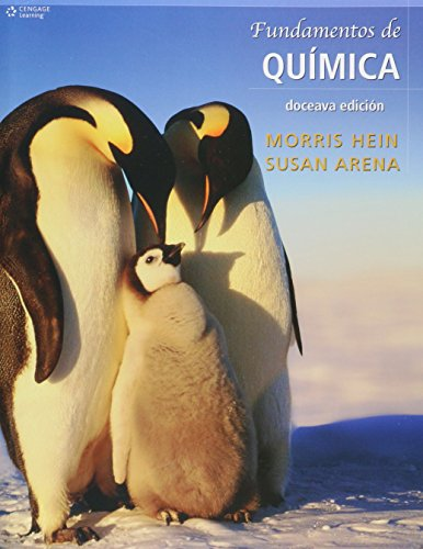 Fundamentos de quimica / Foundations of College Chemistry (Spanish Edition)