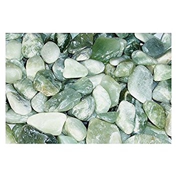 Exotic Pebbles PJ20-1030 20 lb Polished Jade Pebbles - 100532777 ()