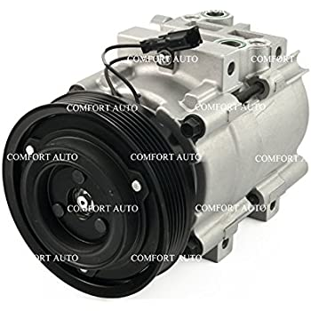 2001 2002 2003 2004 2005 Kia Optima V6 2.7L New AC Compressor With Clutch 1 Year Warranty