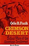 Front cover for the book Crimson Desert by Odie B. Faulk