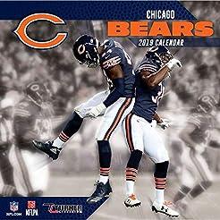 2019 Chicago Bears Wall Calendar, Chicag...