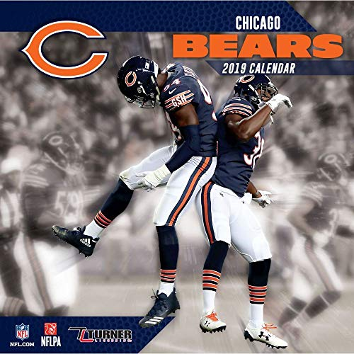2019 Chicago Bears Wall Calendar, Chicago Bears by Turner Licensing … ()