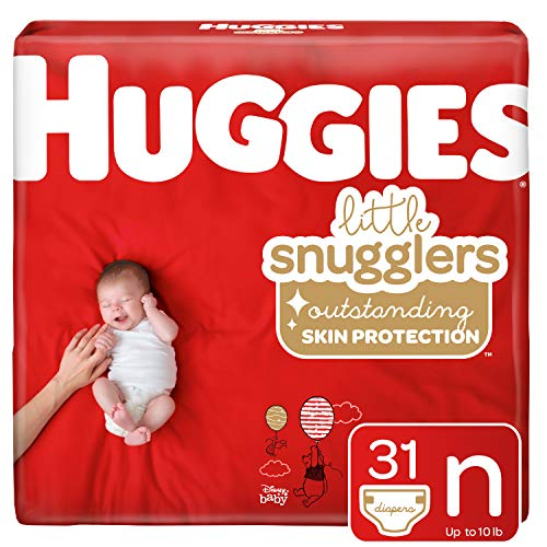 - Huggies Little Snugglers Baby Diapers, Size Newborn, 31 Count (Packaging May Vary)