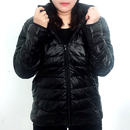and Down Men's Light Puffer Women Black Jacket Yabliss Packable 5nq1wA4zR