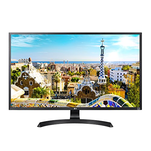 LG 32UD60-B 4K UHD Monitor with AMD FreeSync (2018)