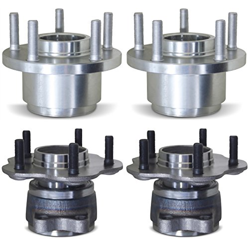 Tomegun 4 to 5 Lug Wheel Hubs Bearing Conversion Set of 4 (Front/Rear) For 89-94 Nissan 240SX S13 by Tomegun (Image #1)