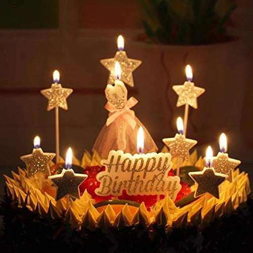 Bwealthest Velas de cumpleaños, Velas de cumpleaños y ...