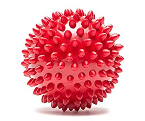 Pro-Tec Athletics High Density Spiky Massage Ball, Red