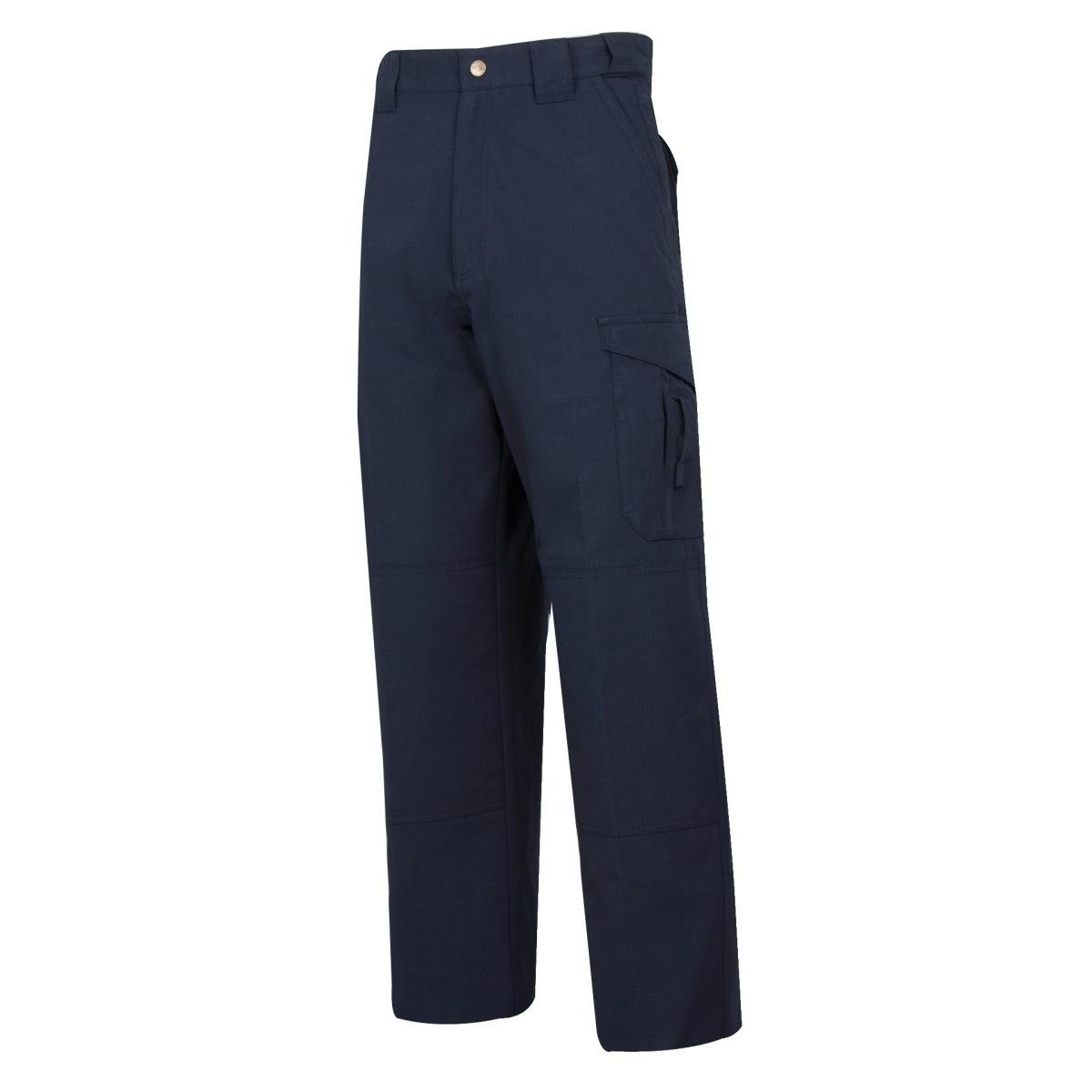 24-7 P/C R/S EMS Pants, 1 Height, 14 Width, W: 34 Large: Unhemmed, Navy 1 Height 14 Width 1120085