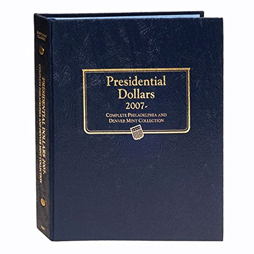 Whitman US Presidential Dollar Coin Album 2007-2016 P & D Mints #2227