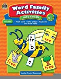 Word Family Activities: Long Vowels Grd K-1 [Paperback] [2008] (Author) Mayra Saenz-Ulloa, Franka Rodriguez, Sabrina Mastromarco