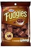 Kraft Caramels, Fudgies Chocolate, 4 Ounce (Pack of 4)