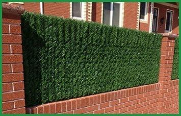 amazon com e joy artificial hedge fence privacy screen for chain