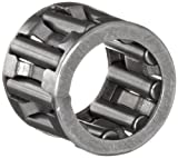 Koyo K15X19X10 Needle Roller Bearing and Roller, Open, Steel Cage, Metric, 15mm ID, 19mm OD, 10mm Width, 30000rpm Maximum Rotational Speed