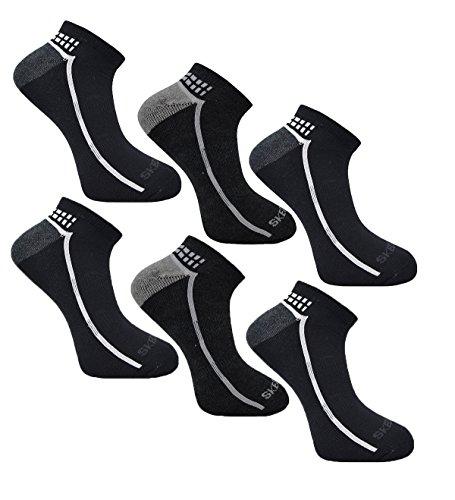 Socken 6 Turnschuhe Skechers Colour Herren Asst Paar Liner 2 wP5UtqUX