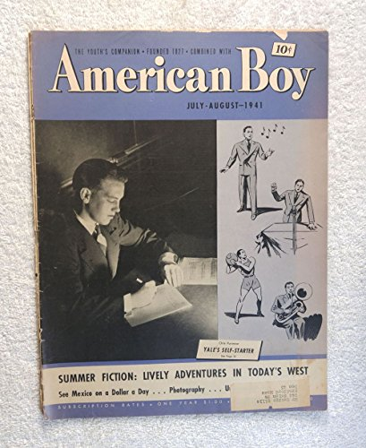 Orin Purinton - Yale's Self Starter - American Boy Magazine - July/August 1941