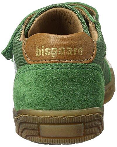 Bisgaard Klettschuhe - Zapatillas Unisex Niños Grün (1019 Green)