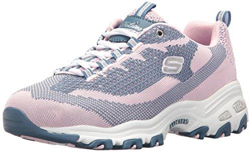 skechers-sport-womens-dlites-reinvention-fashion-sneaker-pink-navy-knit-8-m-us