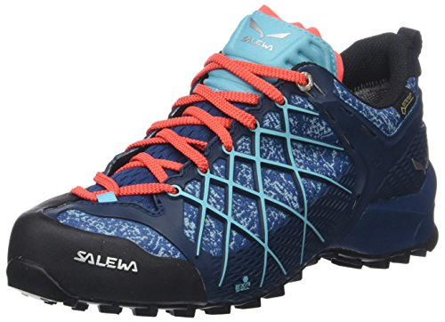 Salewa Damen WS Wildfire GTX Outdoor Fitnessschuhe Mehrfarbig (Poseidon/Capri)