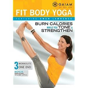 Gwen Lawrence Fit Body Yoga DVD (2011)