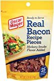 Oscar Mayer Real Bacon Recipe Pieces, 2.8 Ounce (Pack of 6)