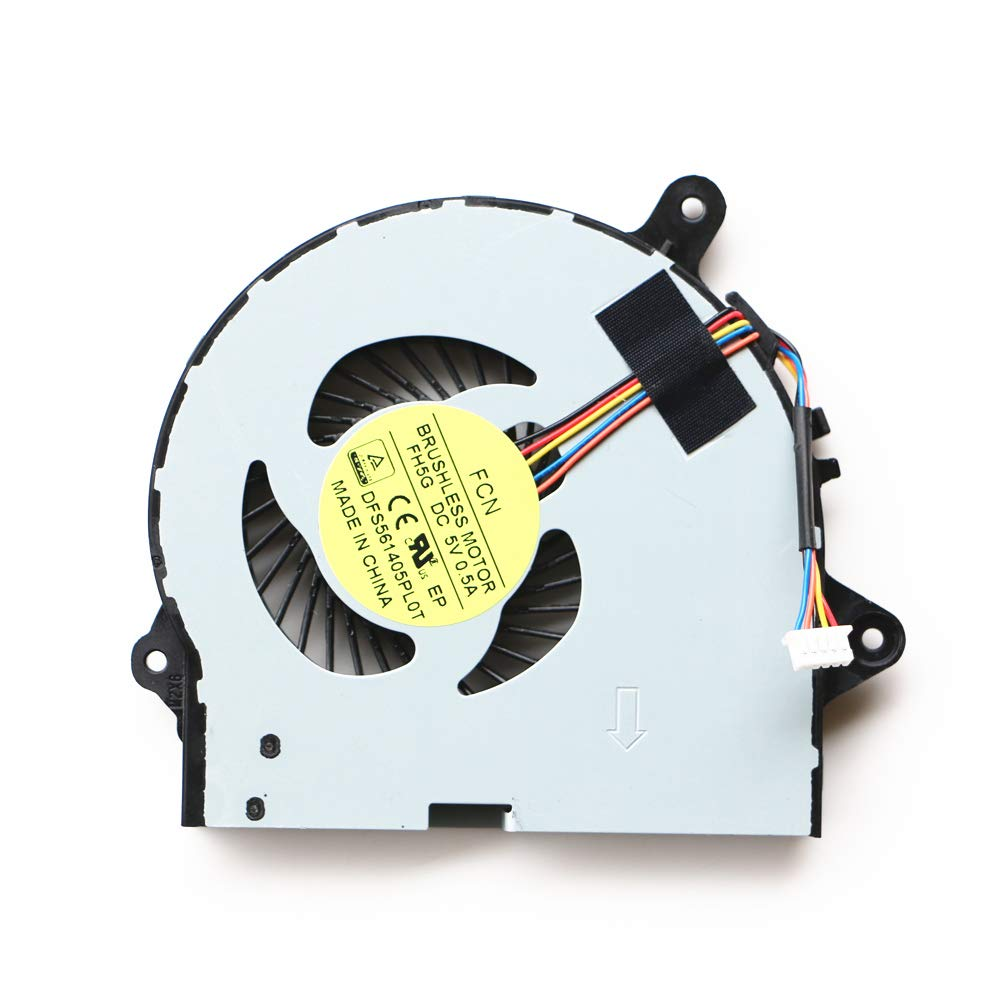 Cooler para Lenovo Ideapad 300-15 300-15ISK 300-14 G41-30 Series Fan 5-Wire 5-pin DFS561405PL0T FH5G