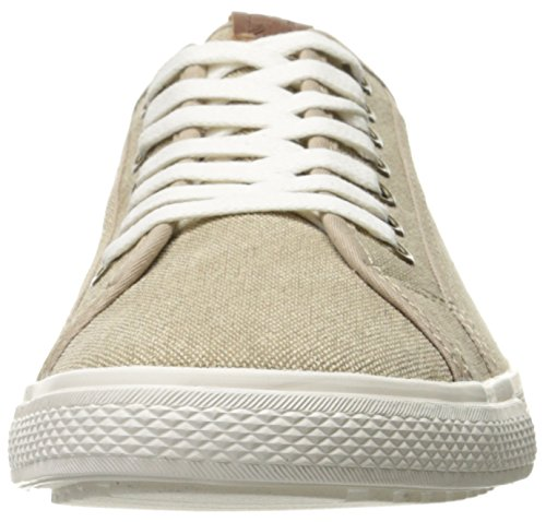 Ben Sherman Heren Chandler Lo Mode Sneaker Zand