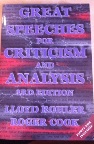 'Great Speeches for Criticism and Analysis'