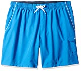 Speedo Marina Ii Volley Extended 20'' Workout Shorts & Swim Trunks, Classic Blue/White, 3X