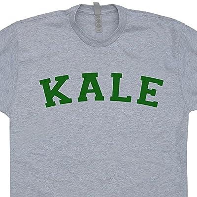 Kale T Shirt University Vegetarian Tee Vegan Yeah Funny Recycle Yale Yoga Organic Mens Womens Kids Shirtmandude