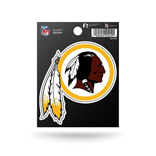 Rico Industries NFL Washington Redskins Die Cut Team Logo Short Sport Sticker