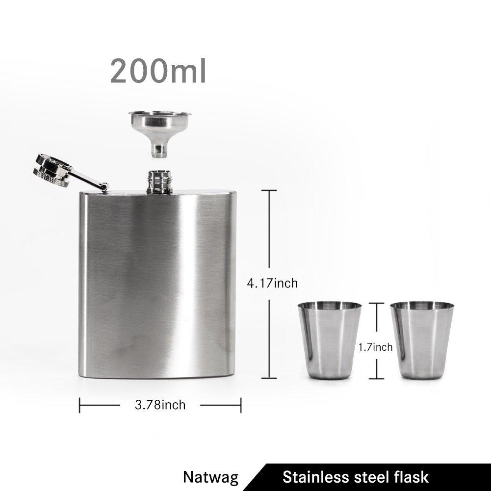 Amazon.com: Natwag - Termo de acero inoxidable con cubierta ...