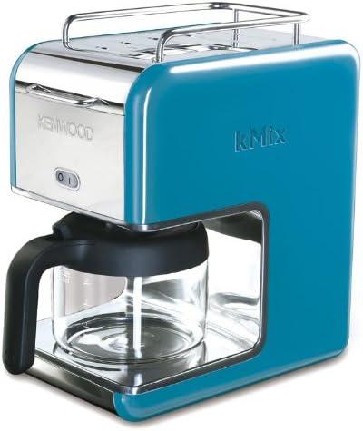 Kenwood CM023 Independiente - Cafetera (Independiente, Cafetera de filtro, 0,75 L, 1200 W, Azul): Amazon.es: Hogar