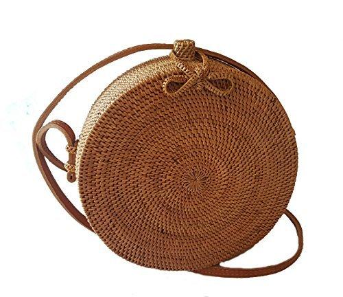 Rattan Nation - Handwoven Round Rattan Bag