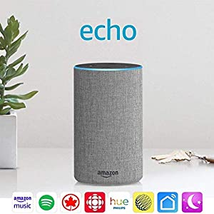 Amazon Echo 2nd Generation Always Ready Connected