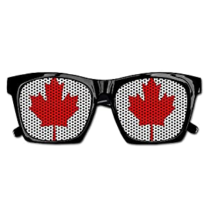 Elephant AN Themed Novelty Canada Maple Decoration Visual Mesh Sunglasses Fun Props Party Favors Gift Unisex