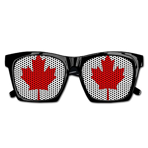 Elephant AN Themed Novelty Canada Maple Decoration Visual Mesh Sunglasses Fun Props Party Favors Gift - Online Canada Sunglasses Cheap