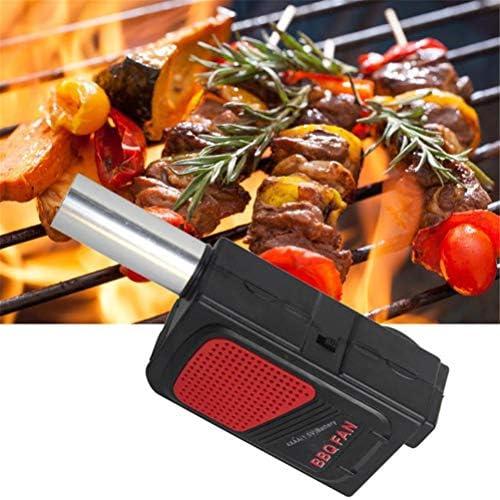 Fovely BBQ Ventilateur à main à piles pour barbecue portable