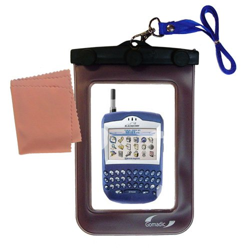 - outdoor Gomadic waterproof carrying case suitable for the Blackberry 7510 7520 to use underwater - keeps device clean and dry