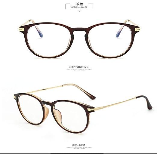 Yangjing-hl Gafas Gafas de Sol con Montura Grande protección ...