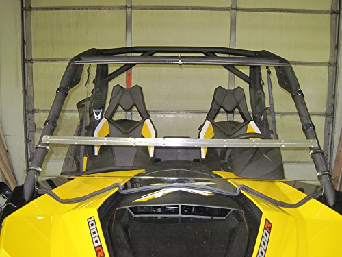 Can-Am Maverick Full-Tilt Windshield-Best of both worlds. Half when you want and full when you need. Made in America (Does not fit the 2017 model) (Can Am Maverick Windshield compare prices)