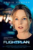FLIGHT PLAN Original Movie Poster 27x40 - Dbl-Sided - Jodie Foster - Peter Sarsgaard - Sean Bean - Kate Beahan