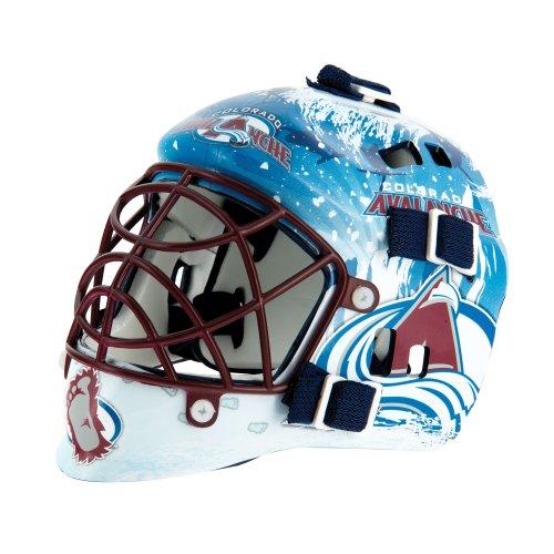 Avalanche Hockey Stick Colorado (Franklin Sports NHL League Logo Colorado Avalanche Mini Goalie Mask)