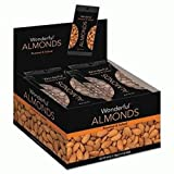 Cheap Wonderful Almonds | Dry Roasted and Salted |5 Ounce 8 Pack