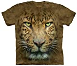 The Mountain Big Face Leopard Adult Tee