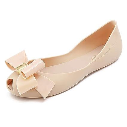 e96052236 Amazon.com: Pucqnlp Korean Version of Plastic Sandals Female Beach ...